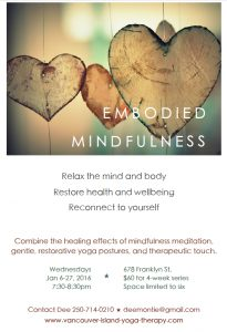 Embodied Mindfulness Wed Class Jan 2016 JPG