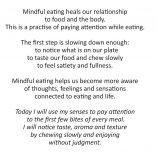 CIE 3 Mindful Eating