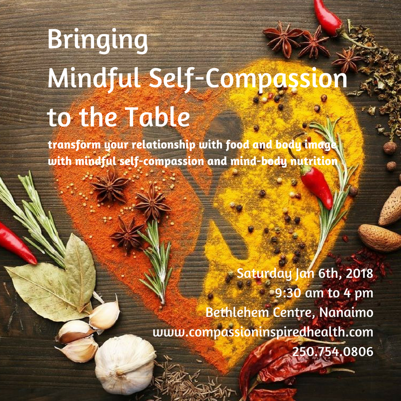 Bringing Mindful Self-compassion to the Table (1)