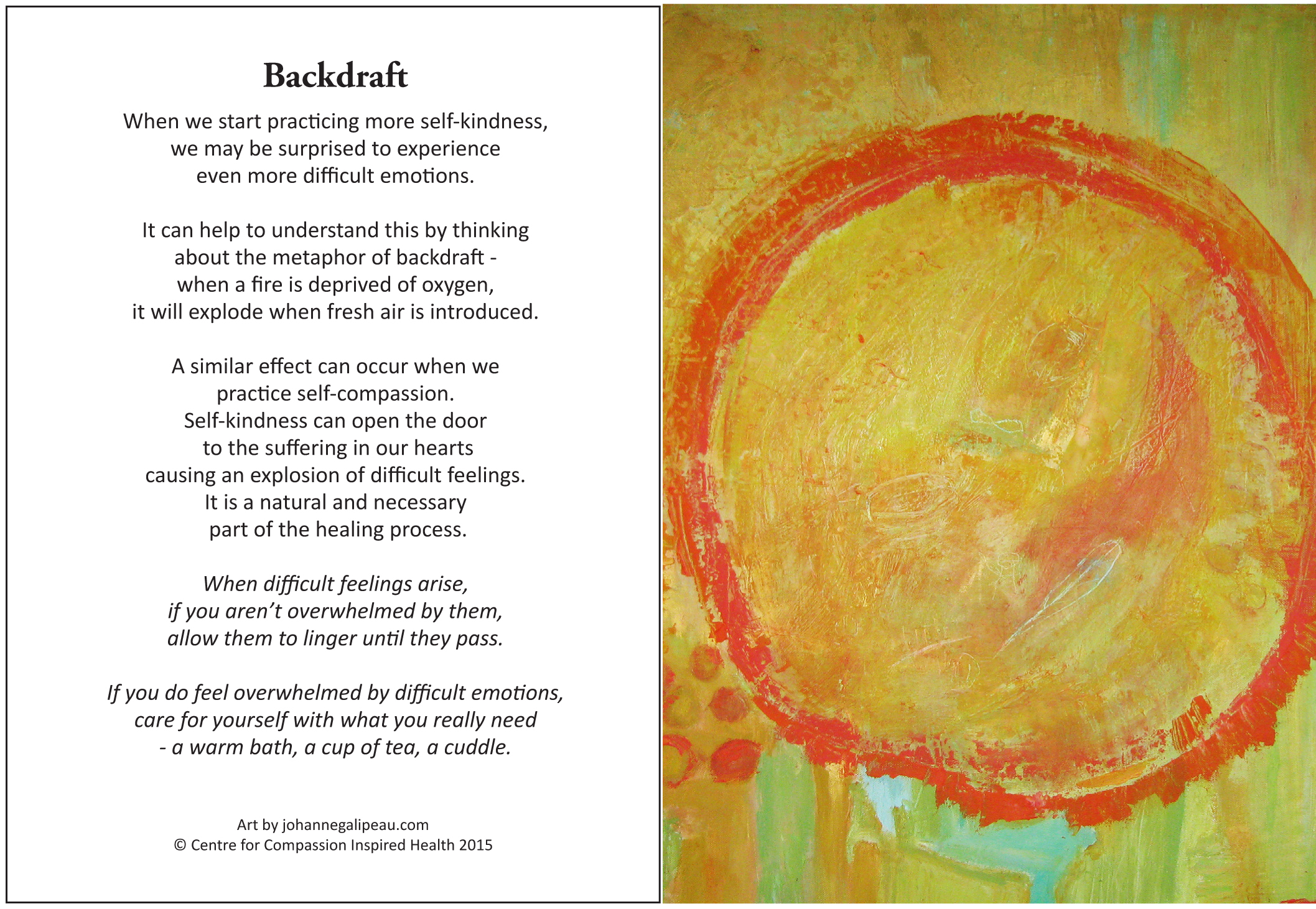 No 18 backdraft