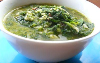 Green Power Bowl Spring Soup