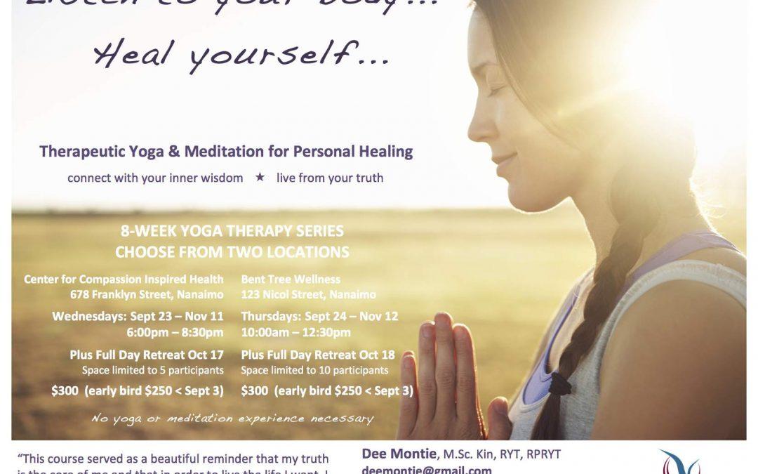 Therapeutic Yoga & Meditation